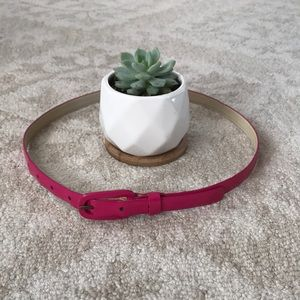 JCrew pink belt size Small